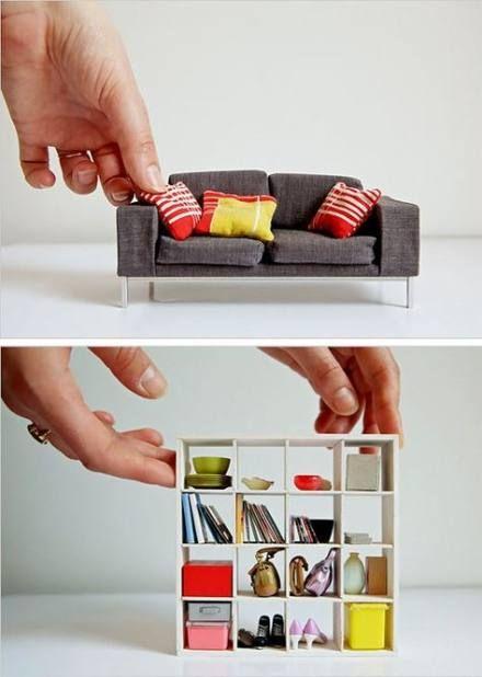 Diy Furniture Modern Doll Houses 58 Best Ideas #dollfurniture