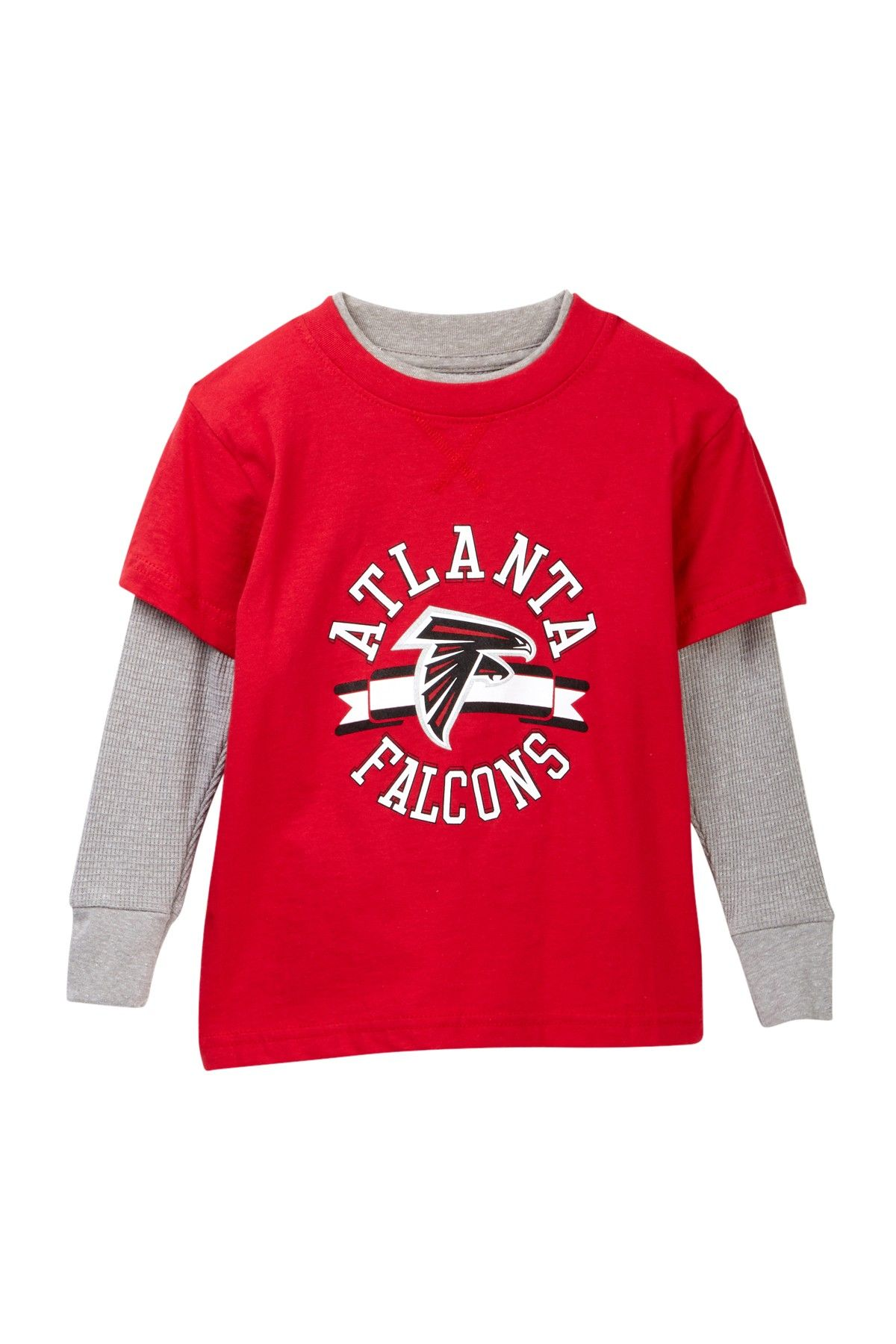 Atlanta Falcons Long Sleeve Tee Toddler Boys
