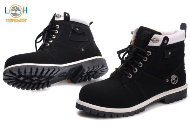 Timberland Men 6 Inch Boots Black White 1973 - Upto Off 2017 Prices