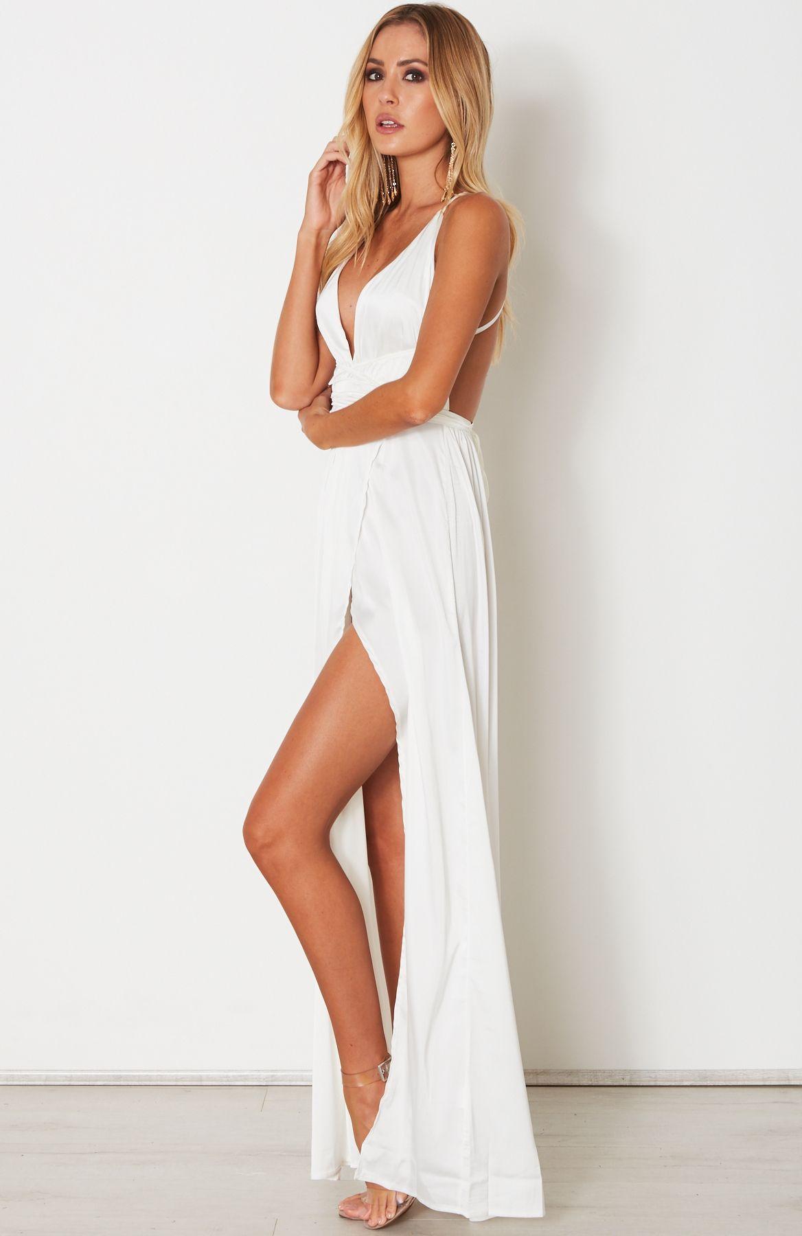 d22607b5b754 Akela Maxi Dress White - White Fox Boutique | Dresses | Dresses ...