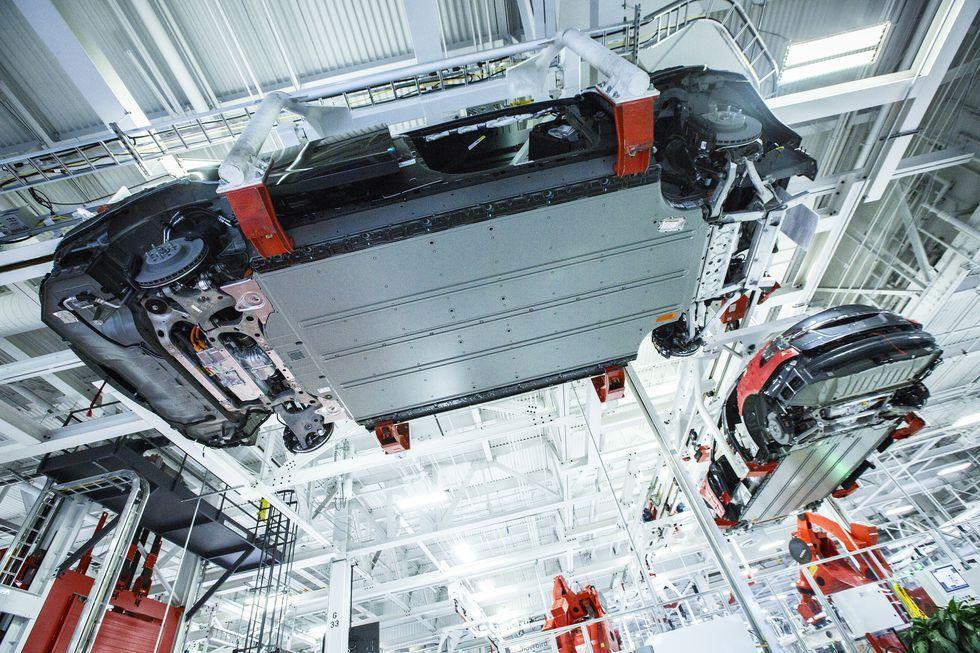 Inside Tesla Fremont Tesla Tesla Factory Fremont