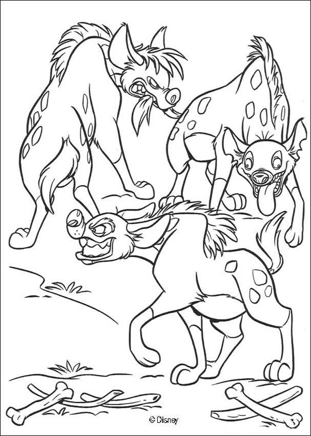 Lion King Hyenas | Coloring pages | Pinterest | Hyena