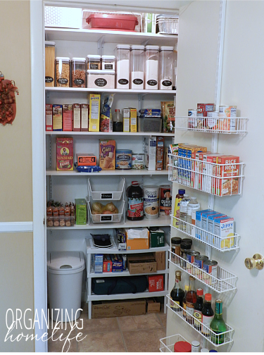 storing non food items in the pantry organize your kitchen frugally day 29 pantry on kitchen organization no pantry id=11649
