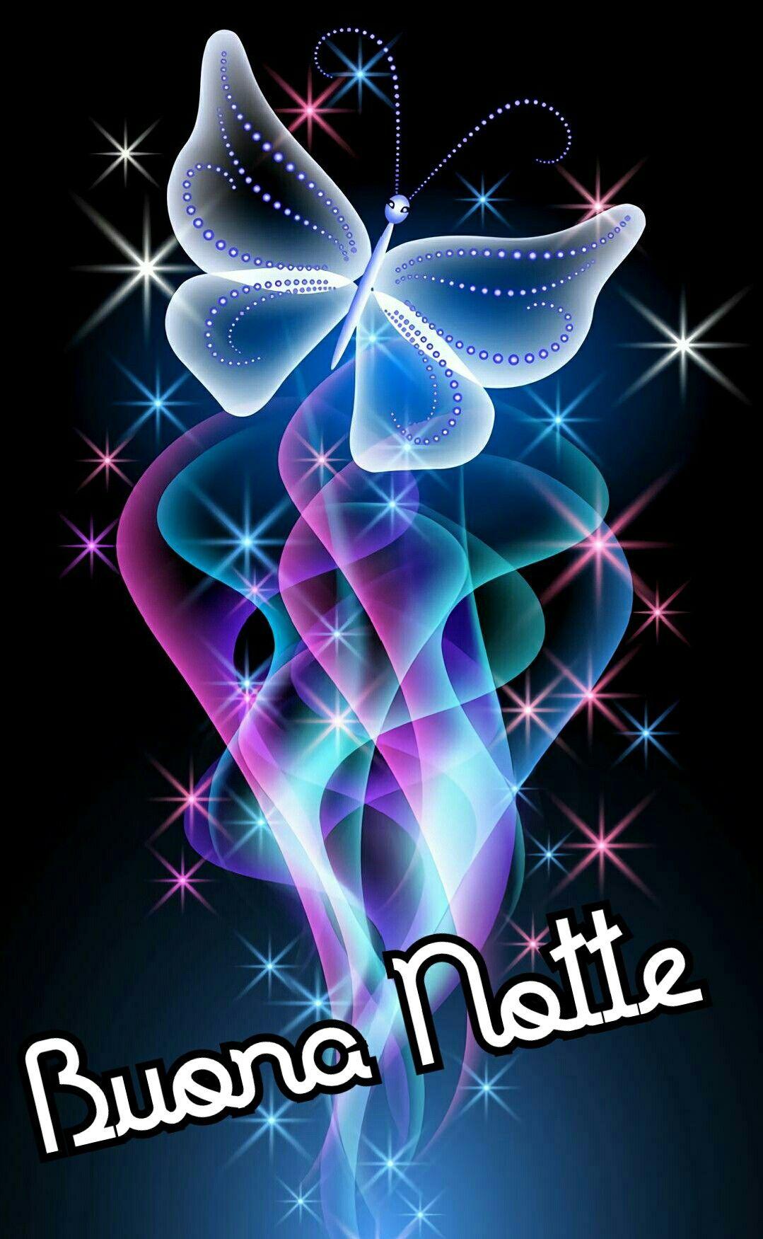 Buona notte notte buonanotte farfalle immagini for Sfondi con farfalle