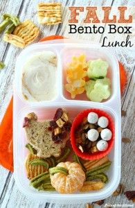 Fall Themed Bento Box Lunch