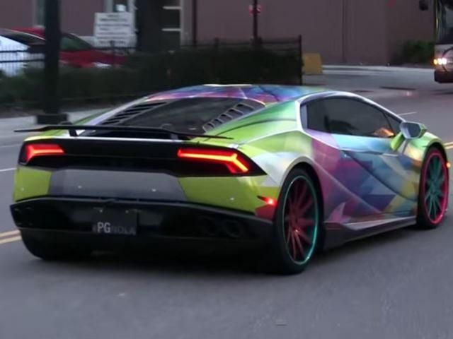 Rainbow Themed Lamborghini Huracan Cars I Like Lamborghini