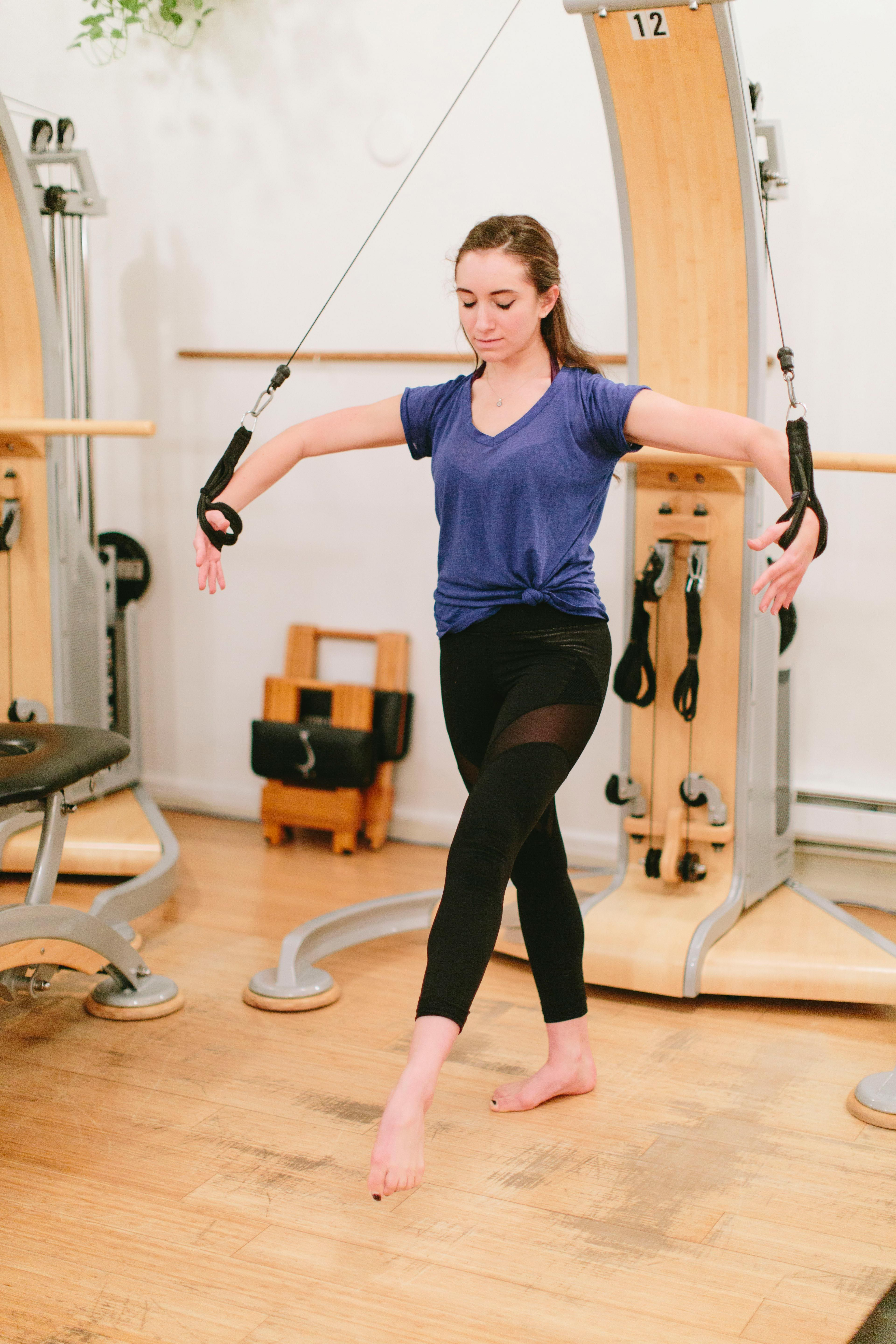 4 Gyrotonic Moves That Take Traditional Exercises Up a ...