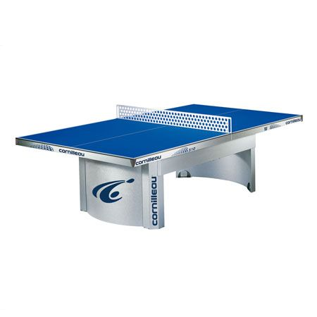Cornilleau Pro 510 Outdoor Stationary Table Tennis Blue Color Top Outdoor Ping Pong Table Table Tennis Ping Pong Table