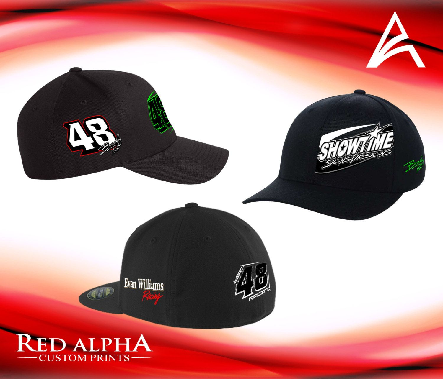 Racing Caps-Dirt Track Dirt Car Sport Mod Racing gear Racing Apparel  Embroidered Caps Racing Hats Race car Racing sponsor Racing Swag by  RedAlphaTees on ... 51eb1f4771c