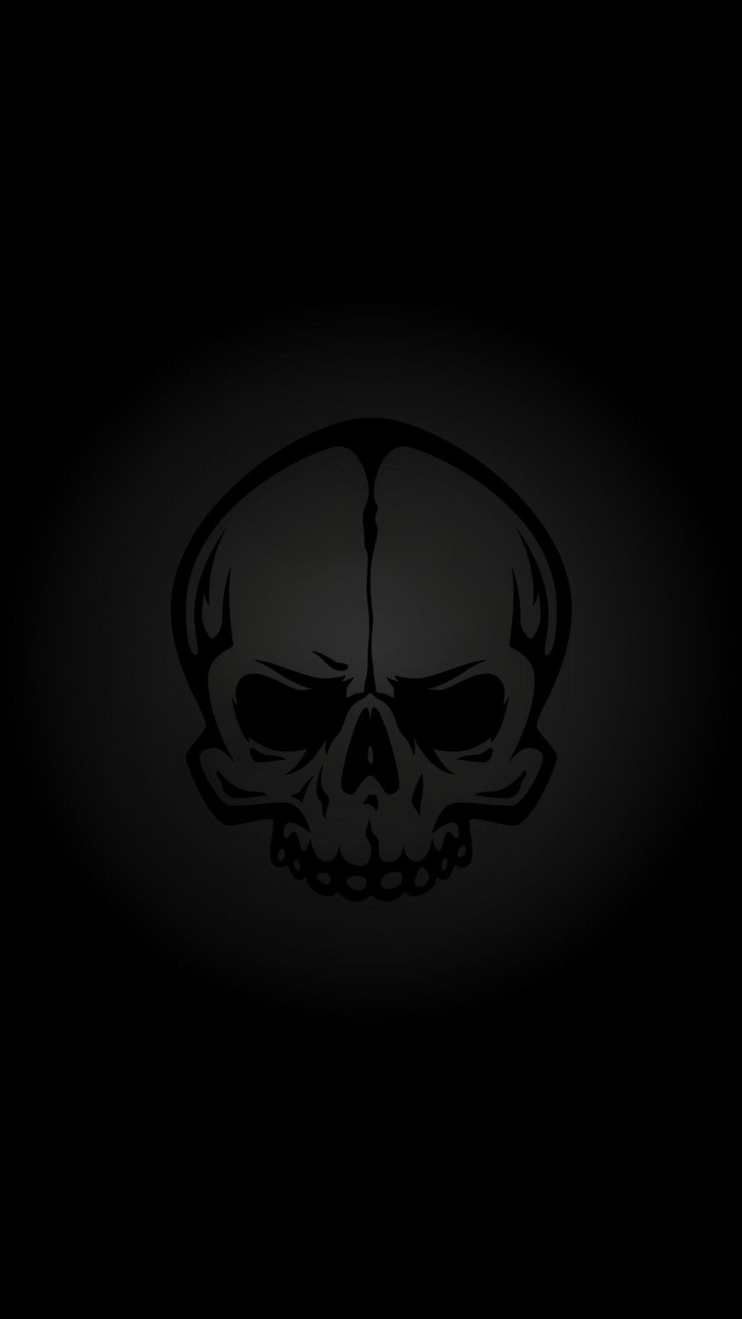 Skull Harley Davidson Background Picture Black Phone Wallpaper