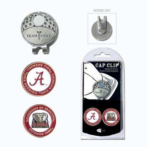 NCAA Cap Clip With 2 Golf Ball Markers - http://golfing.nationalsales.com/ncaa-cap-clip-with-2-golf-ball-markers/