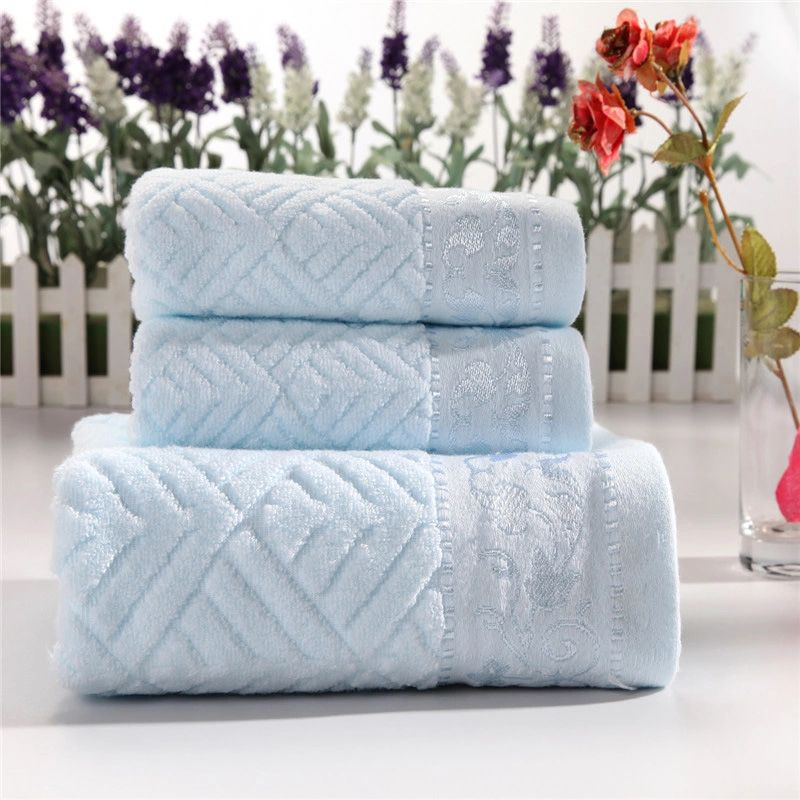 High Quality 3 Pcs Hotel Travel Gym Golf Beach Bath Towel Set For