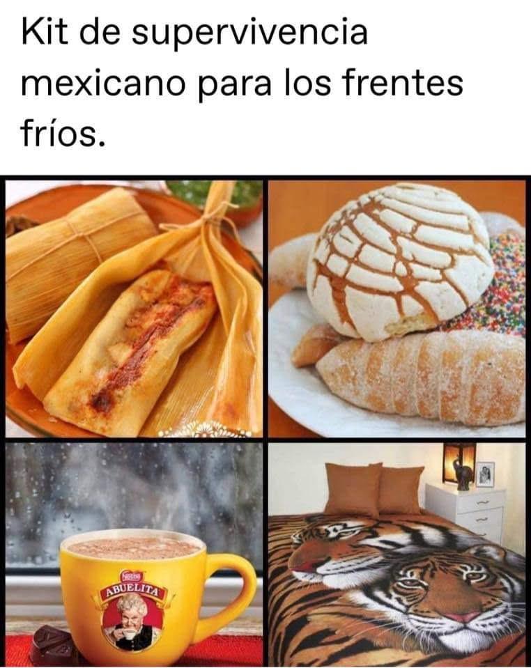 Kit De Supervivencia Mexicano Para Los Frios Holaxd Comida Con Platano Desayuno Mexicano Comida