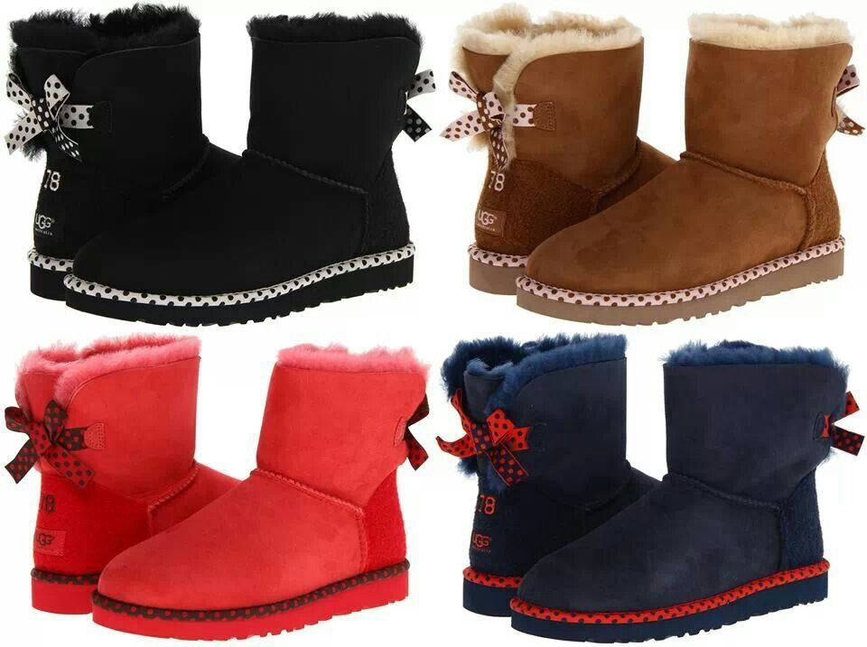 I ♡♥ the red uggs