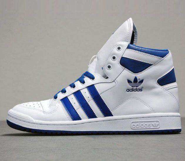 best authentic f076f c97c3 adidas Originals Decade OG Mid-Running White-Light Scarlet-Lone Blue