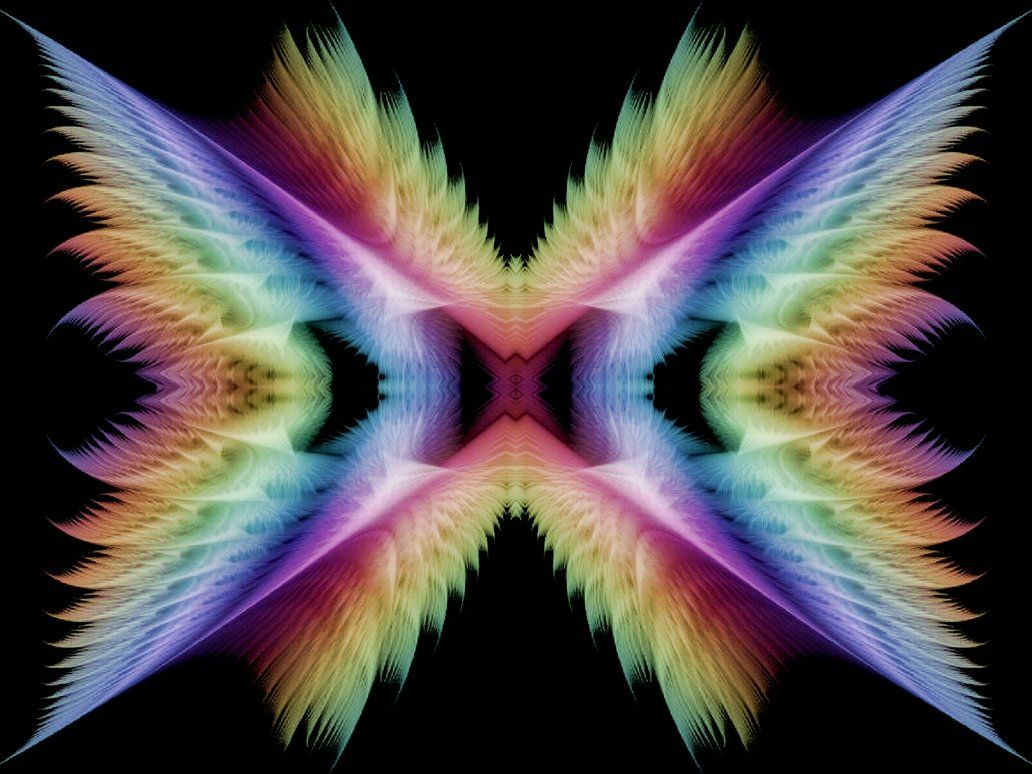Rainbow Wings by Thelma1 on deviantART