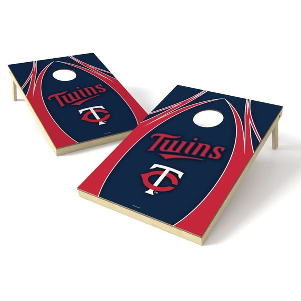 Minnesota Twins 2' x 3' Logo Shield Tailgate Toss Game - $199.99