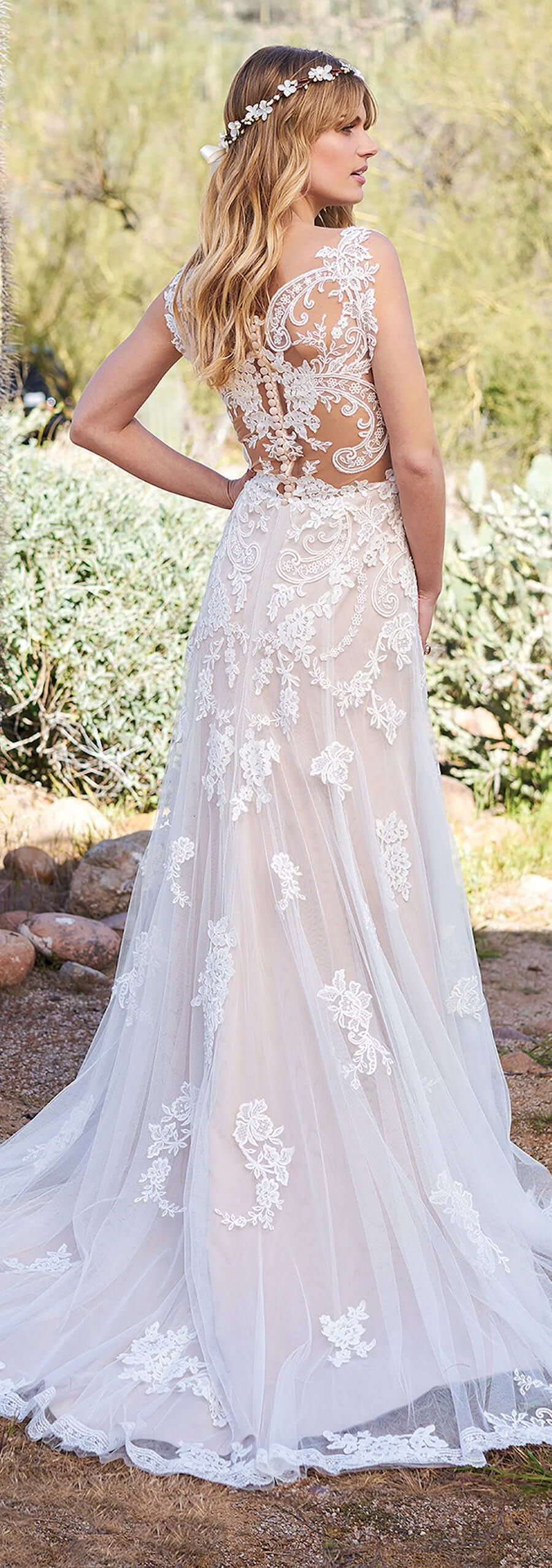 bohemian wedding dresses that will take your breath away