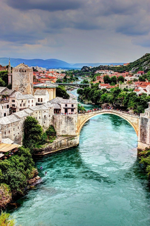 Mostar, Bosnia and Herzegovina #beautifulplaces