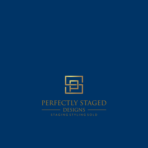 Perfectly Staged Designs Luxury Designer Logo Home Staging And