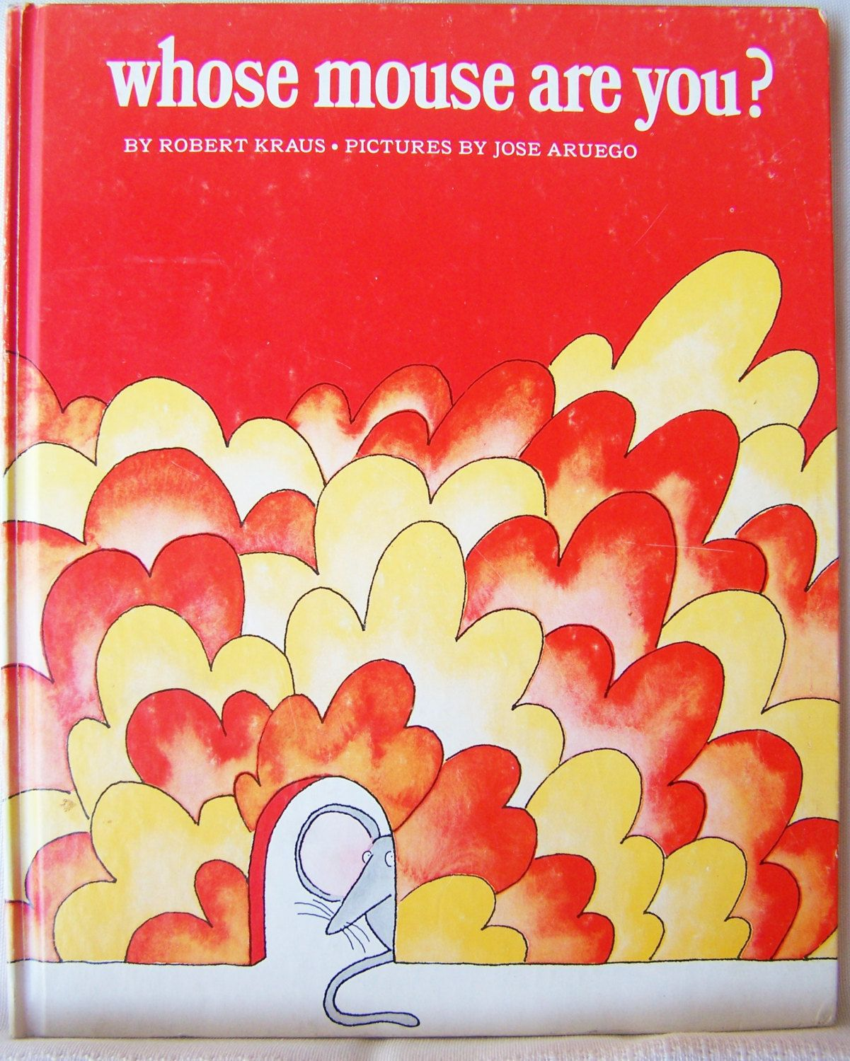 Christmas In July Vintage 1970 Children's Book Whose Mouse Are You? By  Robert Kraus With Pictures By Jose Aruego