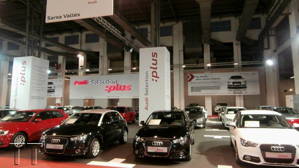 *TT by 2013 THINK TANK realiza el stand de Audi España en el Salón Ocasión 2014 de Barcelona, 1.800 m2