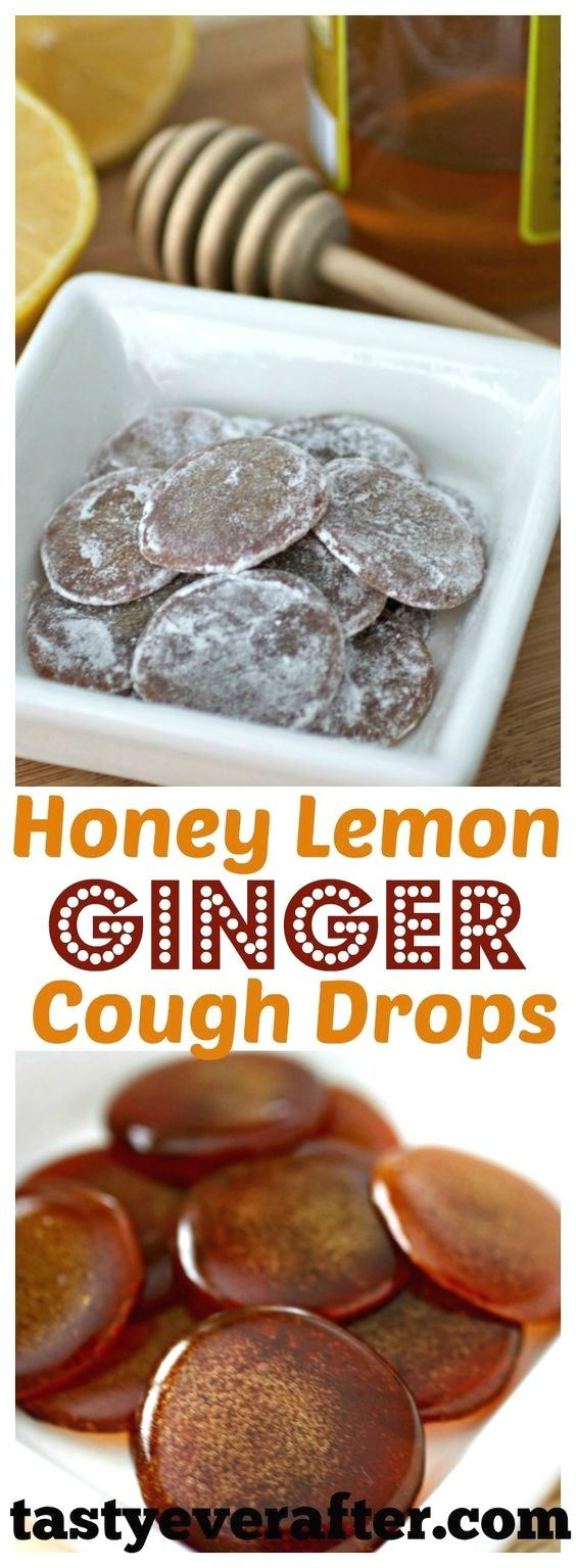 homemade cough drops with essential oils #honeycombcandy
