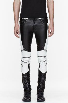 97bd56d61d192f Yves Saint Laurent Biker Leggings   fashion in 2019   Biker pants ...
