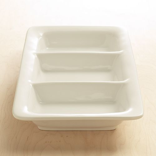 Food Network 3-Section Platter