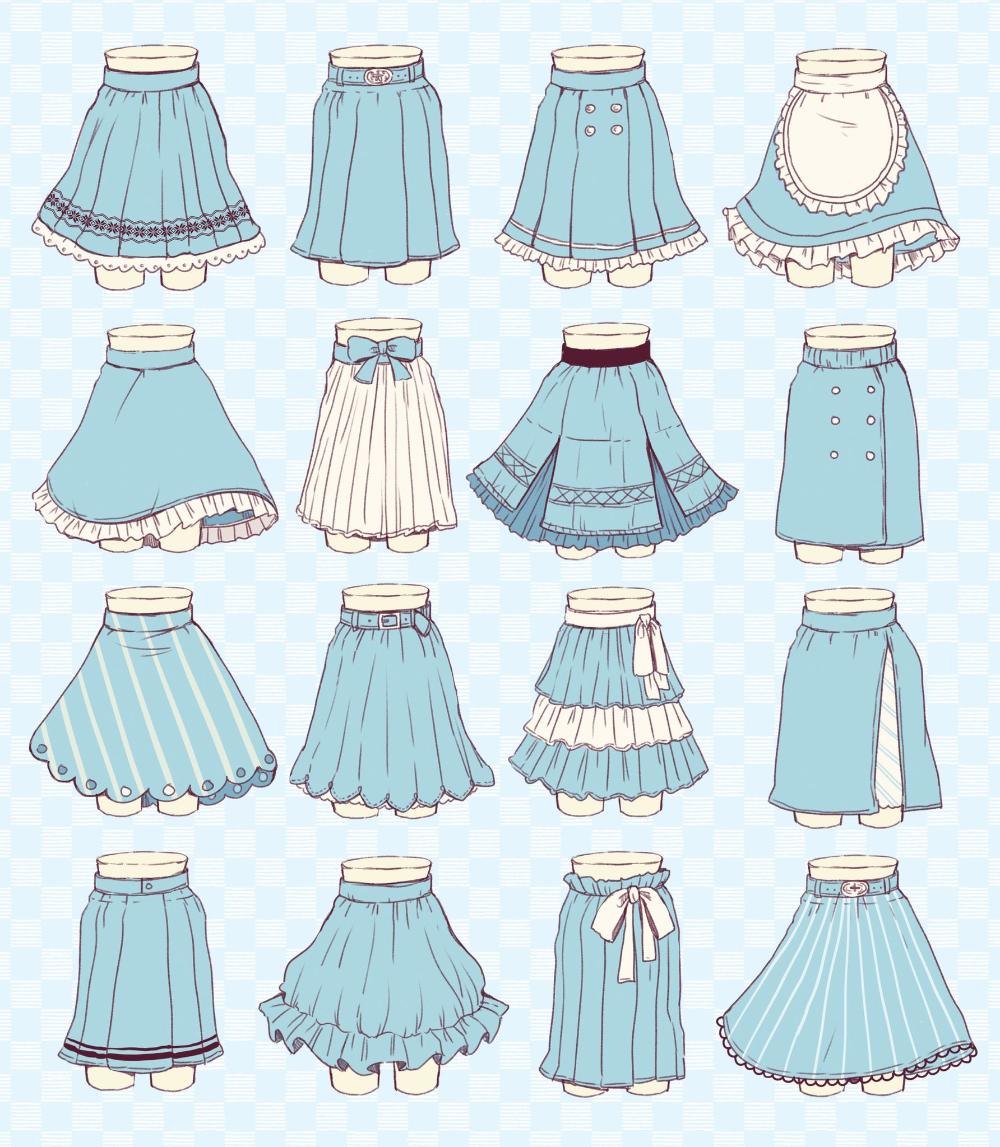 佐倉おりこ すいんぐ 2巻8 21 初画集9 30発売 On Twitter Anime Skirts Art Clothes Drawing Anime Clothes