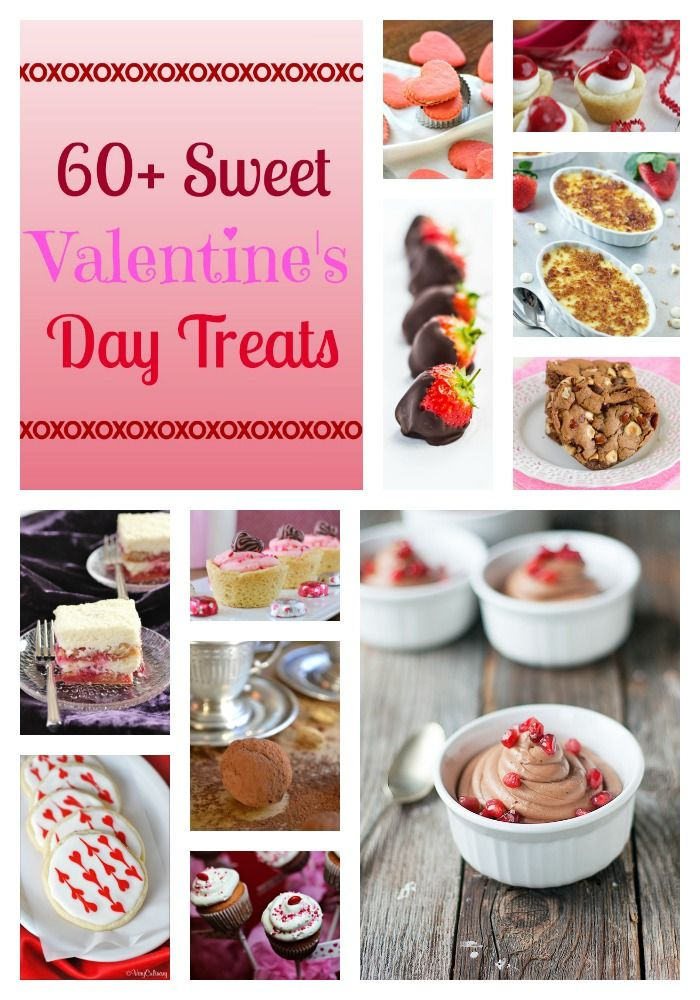 Over 60 delicious recipes for Valentine\'s Day! Every dessert your ...