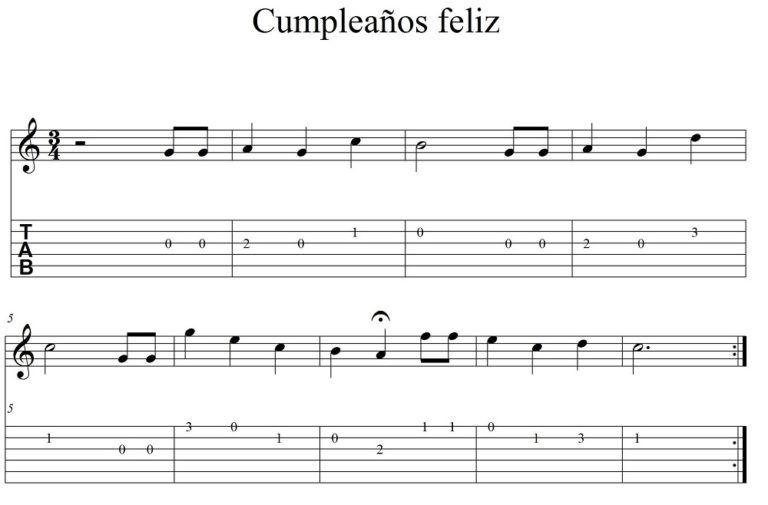 5 Canciones Fáciles Para Guitarra Guitarras Canciones Partitura Para Guitarra