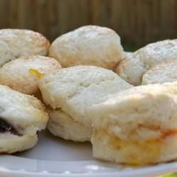 Mom's Baking Powder Biscuits Recipe  I substituted some buttermilk for good results.