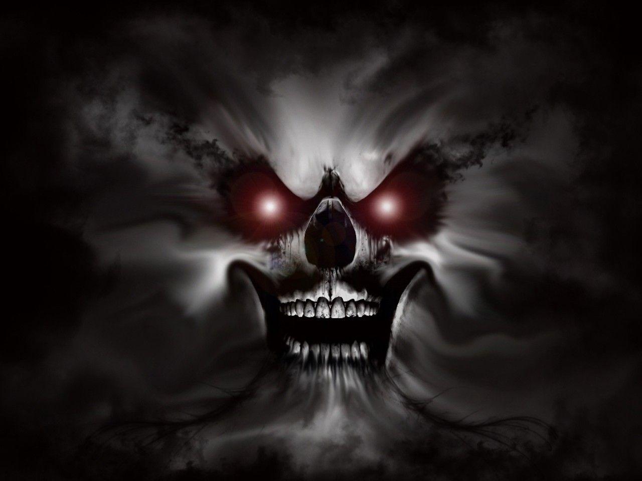 Ghost Skull Dark Fantasy Art Skull Wallpaper Skull Art