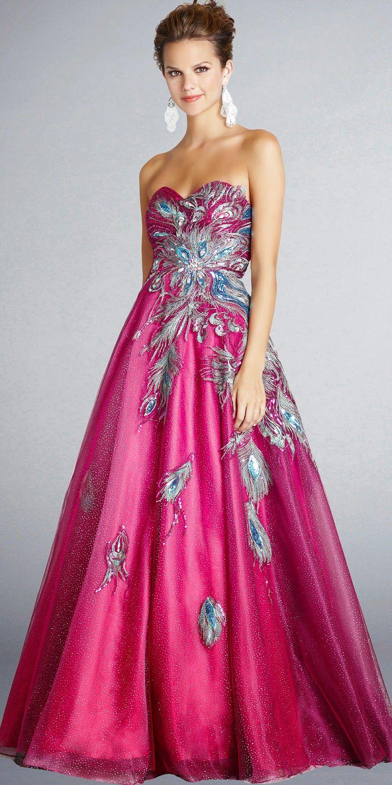 Alucinantes vestidos de 15 años | Moda y Tendencias | Mujer - trajes ...