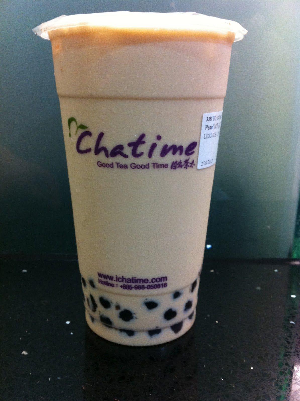 Chatime herbal tea - Cha Time