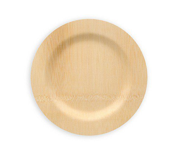Bamboo disposable plates  sc 1 st  Pinterest & Veneerware 9in Bulk Bamboo Plate 25/PK   Disposable plates ...