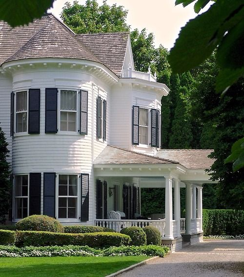 "Woodvale Apartments: ""Maidstone Hall"" On Ocean Avenue, East Hampton, NY White"