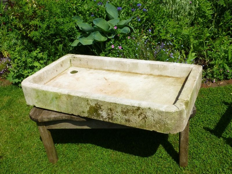 Antique Stone Sink In From The Vintage Garden Company  Perfect Kitchen Sink