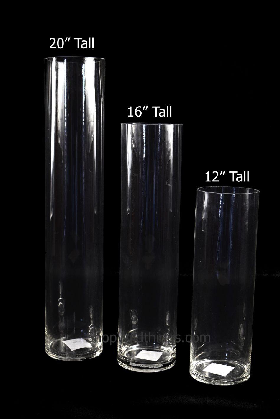 Cylinder Gl Vases 20