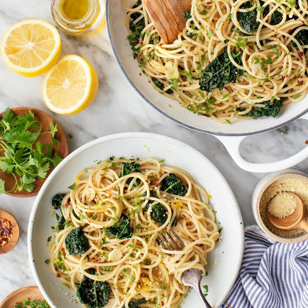 Spaghetti Aglio e Olio | Recipe in 2020 | Olio recipe ...