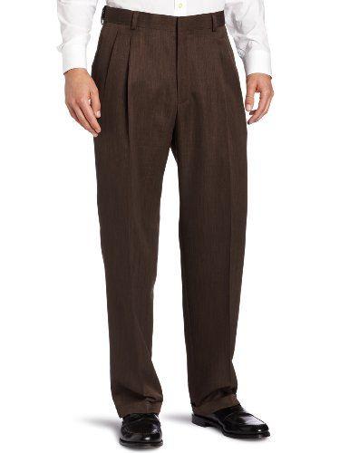 Haggar Men's Textured Stria Pleat Front Dress « Clothing Impulse