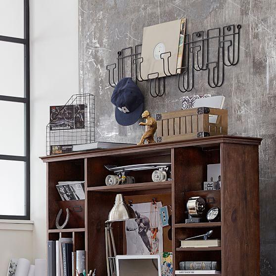 Wire Hat Rack Hat Rack Wall Mounted Hat Rack Horizontal Design