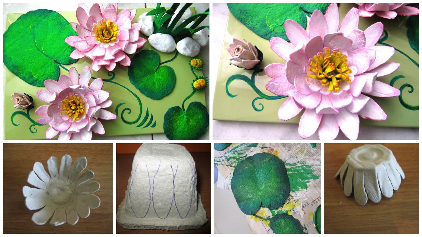 How to make water lilies out of paper water lilies water and how to make water lilies out of paper izmirmasajfo Gallery