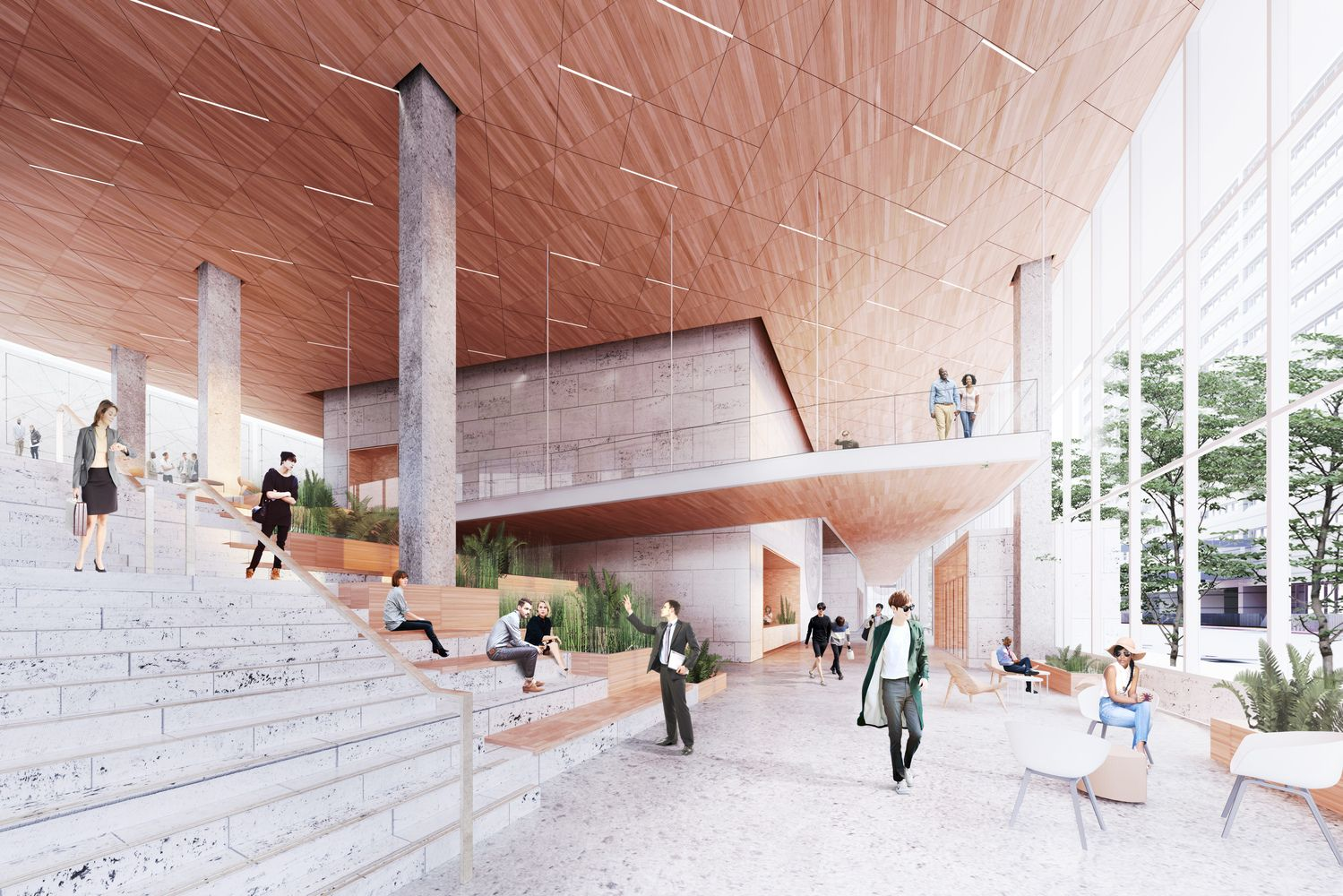 Gallery Of Henning Larsen Brings A Scandinavian Design Approach To The City Of Minneapolis Scandinavian Architecture Henning Larsen Architecture Presentation