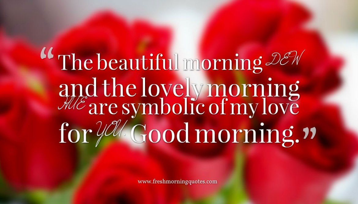 The Most Beautiful Collection Of Romantic Good Morning Image With