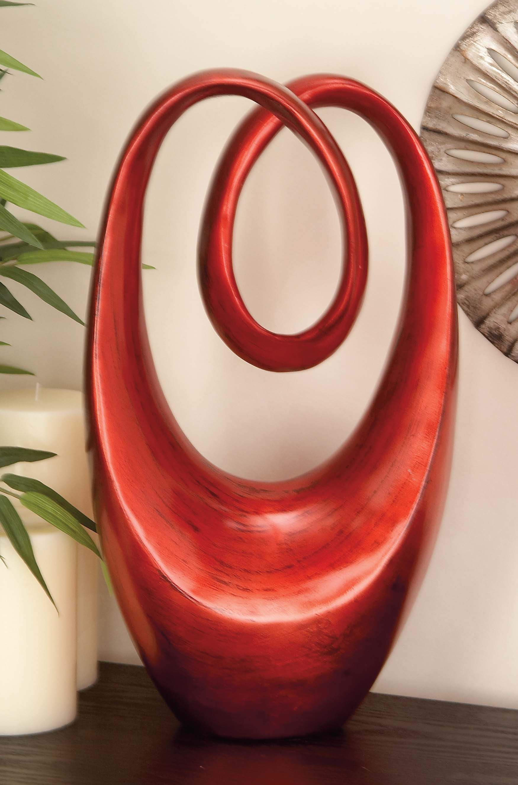 Alder Sculpture, Red Gifts for the home Brimfield & May ...