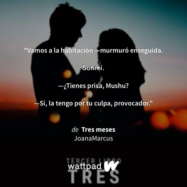 "Estoy leyendo ""Tres meses"" en #Wattpad #romance."