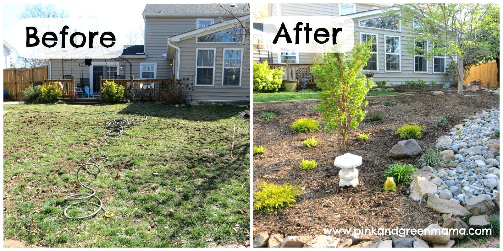 Landscape Ideas For Backyard Makeovers Backyard Makeover Small Backyard Landscaping Diy Backyard Landscaping