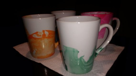 Check out this item in my Etsy shop https://www.etsy.com/listing/265486575/hand-painted-mugs-set-of-4